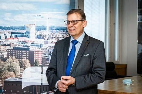 Pormestari Lauri Lyly (sd.) piti tärkeänä, että valtuusto sai rauhassa keskustella Pohjois-Tampereen kaavan pohjia myöten.