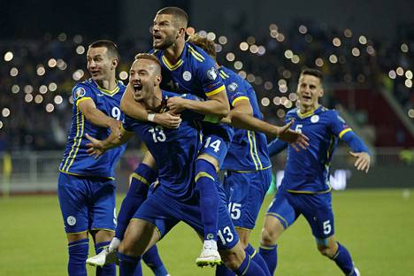 Kosovo on hävinnyt vain Englannille EM-karsinnoissa.