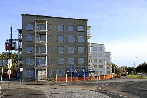 Raisiossa rakennetaan uusia kerrostaloja muun muassa Kerttulan Kisakylään.