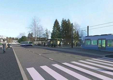 Päästäkseen keskustaan yhä useamman tamperelaisen on käytettävä ensin bussia tai polkupyörää ja sitten ratikkaa.
