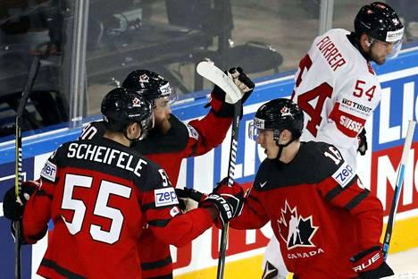 Mikäli Kanadan nappaa täydet kolme pistettä Norjalta, varmistuvat sekä Leijonien puolivälieräpaikka että Kanadan lohkovoitto.