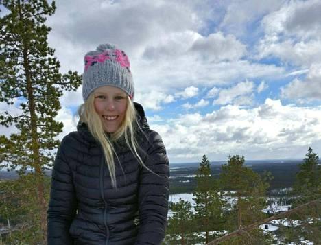 Janina Mäkinen pääsi Ruosniemen mäestä pitkälle kovalla työnteolla.