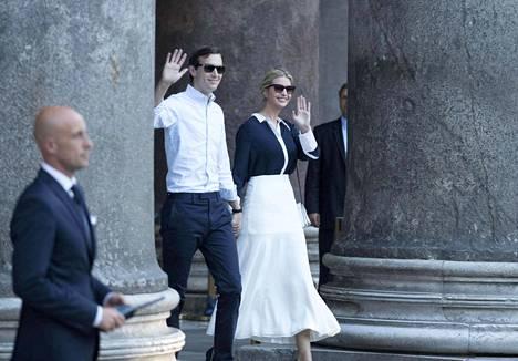 Jared Kusnerilla ja Ivanka Trumpilla on kolme lasta.