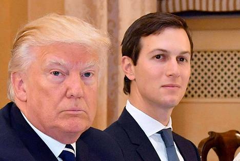Jared Kushner (oik.) on Donald Trumpin neuvonantaja ja vävy.