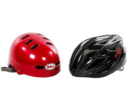 Pottamallin kypärät ovat rynnistäneet voimalla perinteisten mallien rinnalle. Käyttötarkoitus ja pyöräilijän mieltymykset ratkaisevat, millaisen kypärän hankkii.