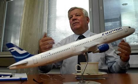 Tästä se lähti. Finnairin askelmerkit Aasian-liikenteen kasvulle luotiin Keijo Suilan vuodenvaihteessa 2005-06 päättyneen toimitusjohtajakauden aikana.