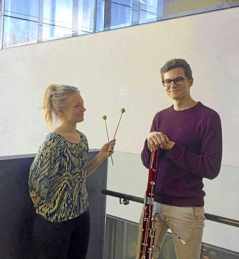 Tiia Toivonen ja Vertti Tapanainen esiintyvät Sibeliuksen syntymäkodin kesämatinessa sunnuntaina.