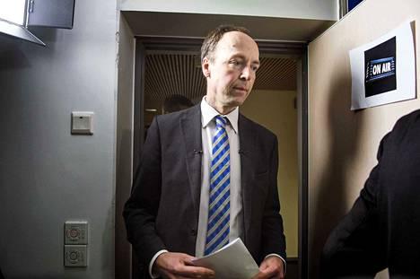 Jussi Halla-aho on toiminut perussuomalaisten puheenjohtajana pian kaksi kuukautta. Tuore puheenjohtaja osallistui kesäkuussa työmiehen tuumaustunnille.