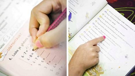 On kaksi avainsanaa, kun vanhempi auttaa lasta läksyissä: rauhassa ja yhdessä.