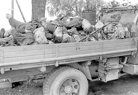 Jatkosodassa Palvelleet