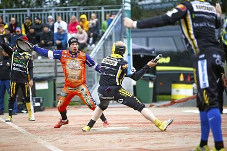 Lukkari Joni Rytkönen toi Kankaanpään Mailalle neljä juoksua Siilinjärvellä.