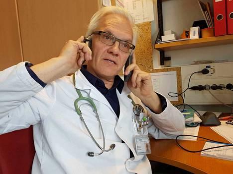 Olli Polo on hoitanut Unesta-klinikalla kroonista väsymysoireyhtymää (CFS) sairastavia potilaita.