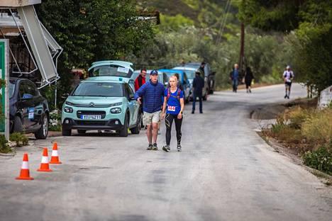 Noora Honkalan neljäs Spartathlon päättyi keskeytykseen 123 kilometrin kohdalla.