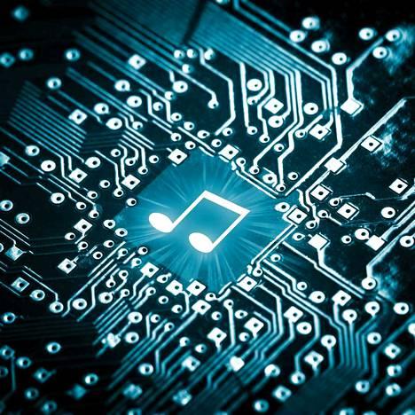 Musiikin suoratoistopalvelut toivat Suomessa musiikkiteollisuuden tuloista 75 prosenttia ja fyysiset äänitteet 25 prosenttia.