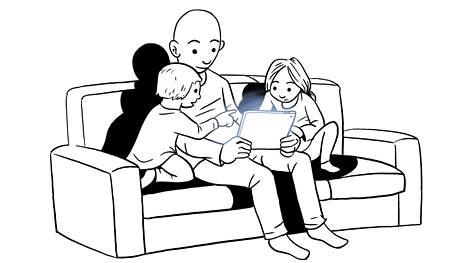 Aidosti digitaalisten kirjojen on ajateltu lyövän ensin läpi erityisesti lastenkirjoina.
