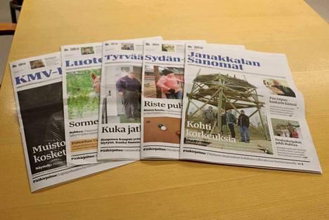 Alma Regionsiin kuuluva Alma Media Kustannus Oy kustantaa maakunta-, paikallis- ja kaupunkilehtiä.