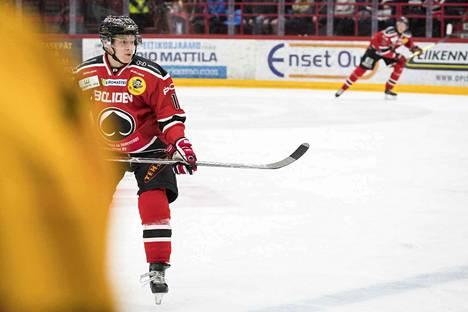 Jere Seppälä pelasi vaistoilla.