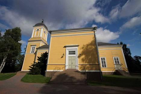 Kankaanpään kirkko. Arkistokuva.