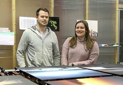 Keuruulaisen Primo Median yrittäjät Keaton Freking ja Viveka Hämeenniemi halusivat molemmat yrittäjiksi ja nähdä, mihin se tie heidät vie.
