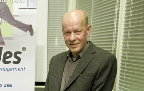 Listan toiselle sijalle kivunnut Mikko Nivala on ohjelmistotalo M-Files alkuperäisiä omistajia.