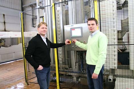Jari Aaltonen ja Matti Tuominen saivat molemmat reilut 1,2 miljoonaa euroa ansiotuloja. Arkistokuva vuodelta 2010.