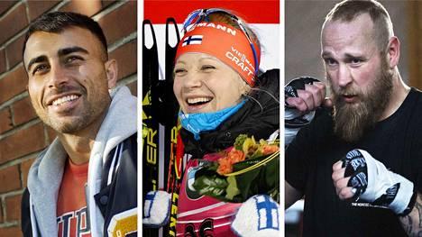 Muun muassa Makwan Amirkani, Kaisa Mäkäräinen ja Robert Helenius tienasivat viime vuonna mukavasti.
