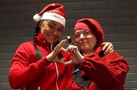 Jaana Pajunoja on toinen Vuoden joulutonttu. Ensimmäisen joulutontun tittelin sai viime vuonna niin ikään yleisön äänillä Sirpa Kankeri.