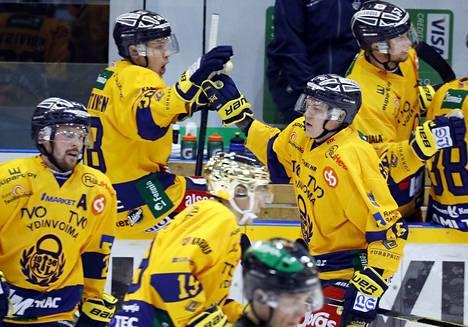 Teemu Ramstedt sai Lukko-debyytissään syöttöpisteen, mutta KooKoo vei pisteet Raumalta.