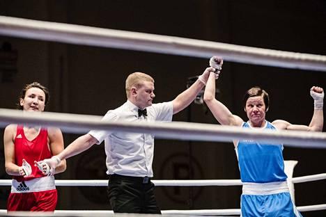 Mira Potkosen (oik.) pitkän voittosarjan tuorein tuli reilu viikko sitten Tammer-turnauksessa.