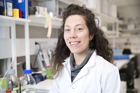 Venla Harju on saavuttanut suunnistajana monta MM-mitalia. Hän keskittyy tutkijana kantasoluhoitoihin.