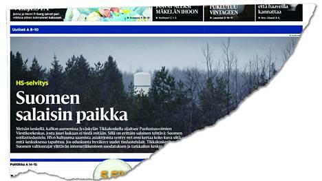 Helsingin Sanomat julkaisi artikkelin lauantaina 16. joulukuuta.
