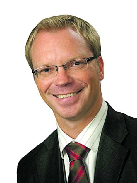 OP Sastamalan toimitusjohtaja Jyrki Rantala.
