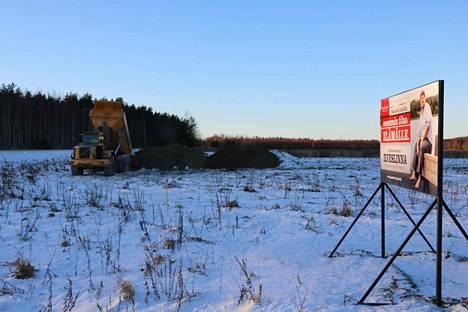 Kaavoitetun Ilveslinnan loppualueen infraa ryhdytään rakentamaan kysynnästäkin riippuen vuosien 2018-2019 aikana.