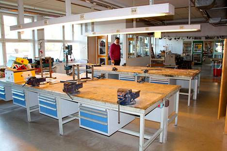 Merikarvian koulukeskus alkaa olla kymmeniksi vuosiksi saneerattu, kun käsityöluokka on ensi lukuvuoden alkaessa valmis.