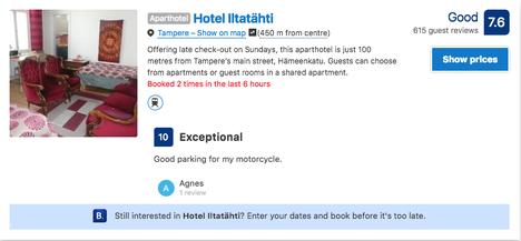 Hotelli Iltatähti