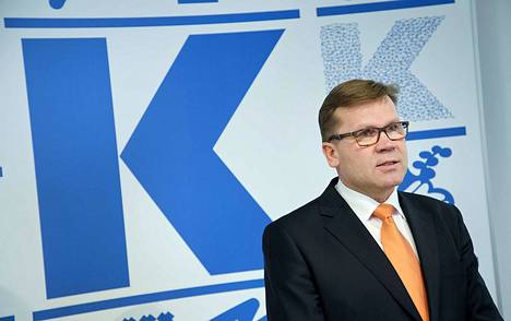 Keskon pääjohtaja Mikko Helander esitteli yhtiön tulosta torstaina Keskon tilinpäätösinfossa Helsingissä.