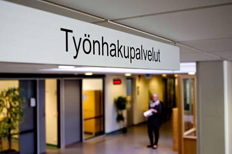 Mänttä-Vilppulan työttömien työnhakijoiden osuus noudattaa Pirkanmaan maakunnan keskiarvoa.