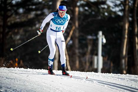 Aino-Kaisa Saarinen oli mukana neljänsissä olympialaisissaan.