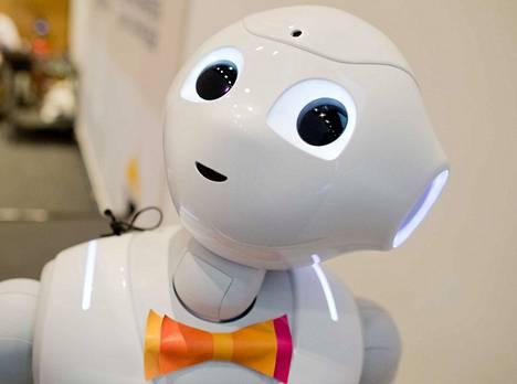 Pepper on sosiaalinen robotti.