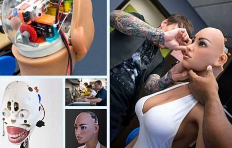 Kaliforniassa toimiva Relbotix valmistaa tekoälyllä varustettuja ihmisen kaltaisia seksirobotteja.