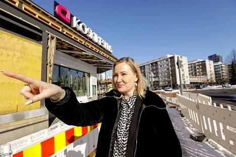Cityconin kaupallinen johtaja Mari Laaksonen.