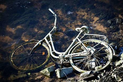 Tammerkoskesta on perinteisesti löytynyt polkupyörä tai useampia. Niin myös nyt.