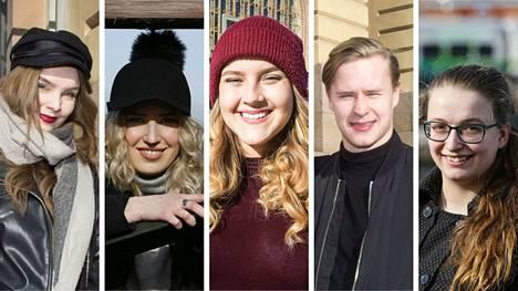 Milja Kalliosaari, Ella Virta, Kerttu Kaisanlahti, Johannes Vänttinen ja Briana Lenick saivat toiveidensa opiskelupaikat. Nyt he antavat vinkit uusille hakijoille.