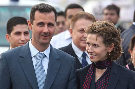 Bashar ja Asma al-Assad ovat olleet naimisissa vuodesta 2000 lähtien.