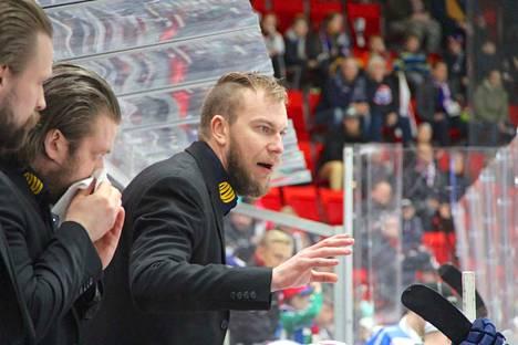 KeuPa HT:n valmentaja Mikko Heiskanen