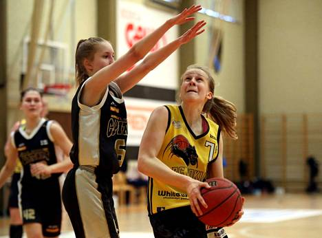 Mona Luoto edusti BC Nokian joukkueessa nuorten 1999 syntyneiden pelaajien ikäluokkaa. Pisteitä syntyi kauden aikana yhteensä 214.