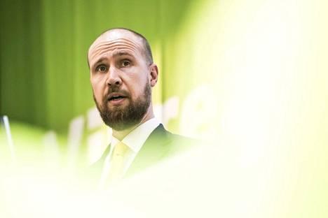 Vihreiden puheenjohtaja, kansanedustaja Touko Aalto kertoo, että puolueen valmistelema sosiaaliturvamalli valmistuu syksyllä.