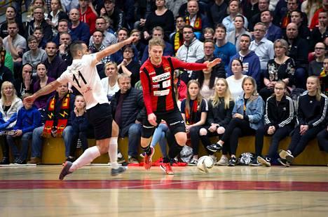 Jovan Stankovic muun Leijona-joukkueen kanssa ei onnistunut ensimmäisessä finaaliottelussa.