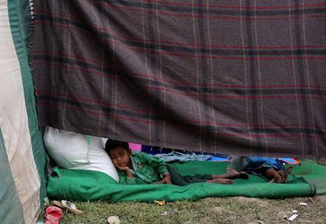 Yli 640 000 rohingya-pakolaista on paennut Myanmarista eli Burmasta naapurimaahan Bangladeshiin.