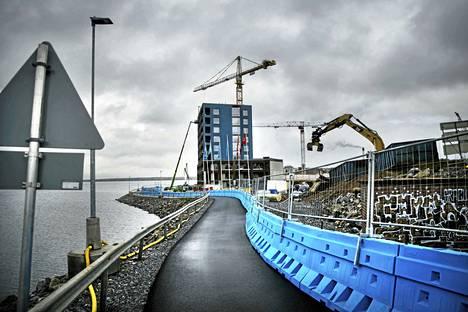 Ranta-Tampellasta saatavat maanjalostuksen tulot ovat Rantaväylän tunnelin rakentamisen loppuyhteenvedon mukaan 81,7 miljoonaa euroa.